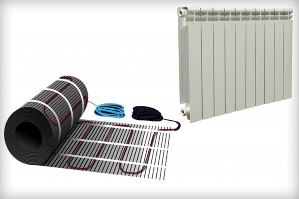 Что выбрать, тёплый пол или радиаторы