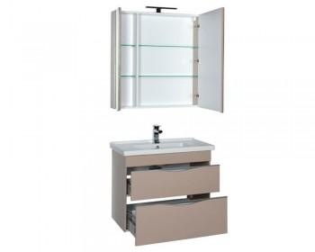 Мебель для ванной Aquanet Эвора 80 капучино