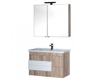 Мебель для ванной Aquanet Мадейра 100 дуб кантри