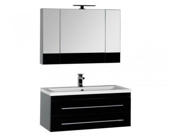 Мебель для ванной Aquanet Верона 100 черный