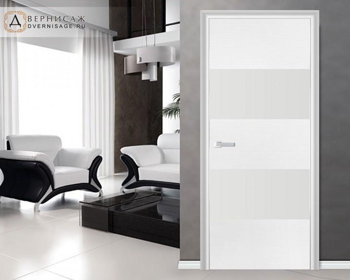 Дверь Profil Doors 10D Белая волна