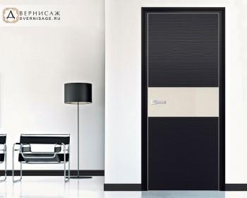 Profil Doors 4D Черная волна ПО