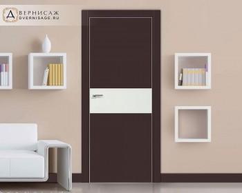 Profil Doors 4E Тёмно коричневый ПО